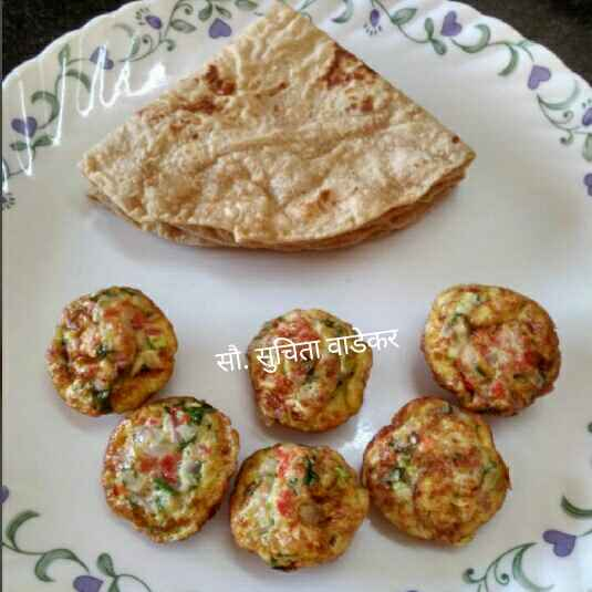 Photo of Eggs Appe with Vegetables ... by Suchita Wadekar at BetterButter