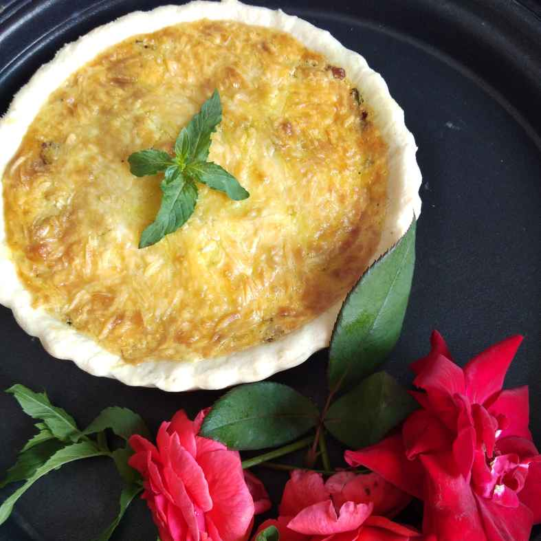 Photo of Chicken quiche by Sudeshna Mondal at BetterButter