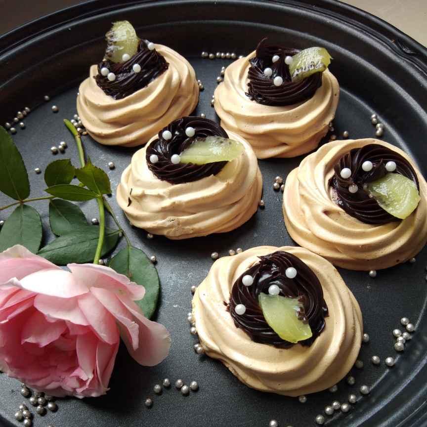 Photo of Choco pavlova by Sudeshna Mondal at BetterButter