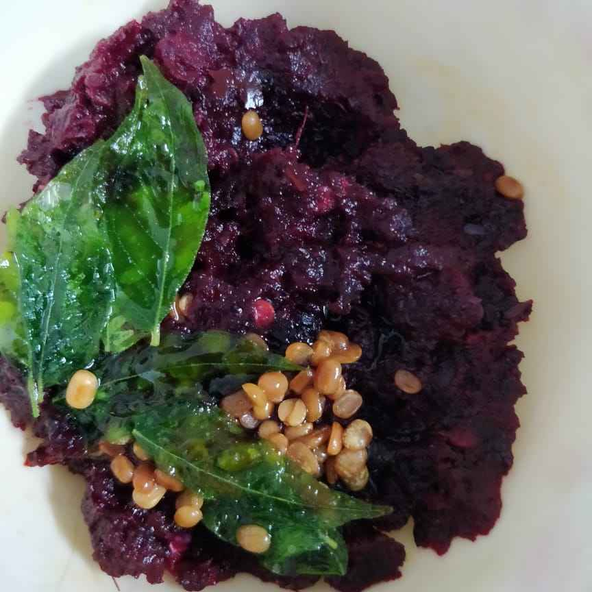 Photo of Beetroot chutney by Sudha Badam at BetterButter