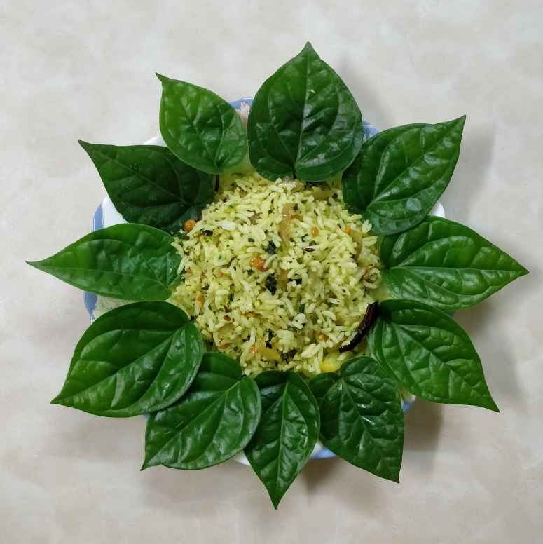 How to make Beetel leaf rice