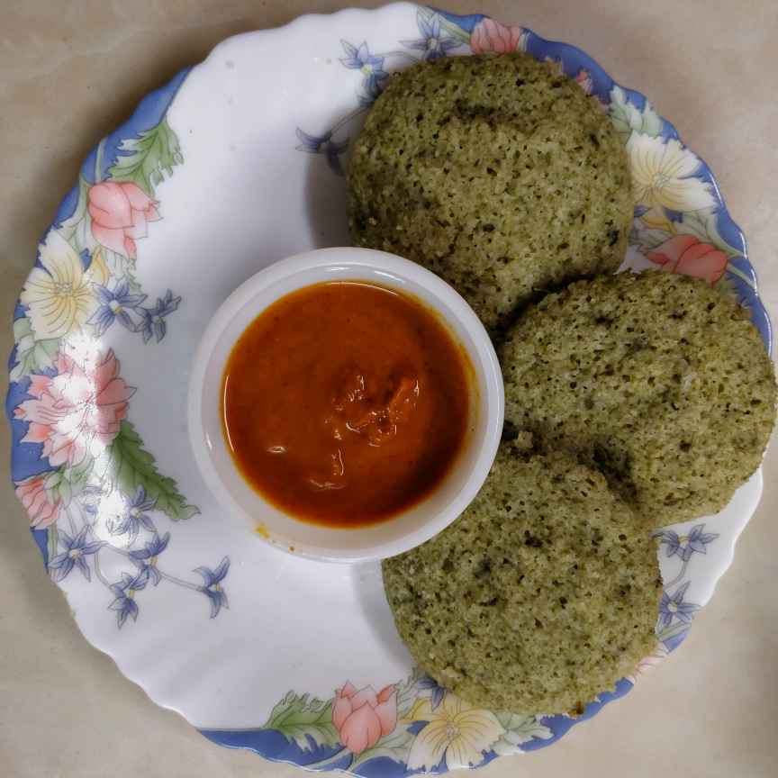 How to make Spinach Idli