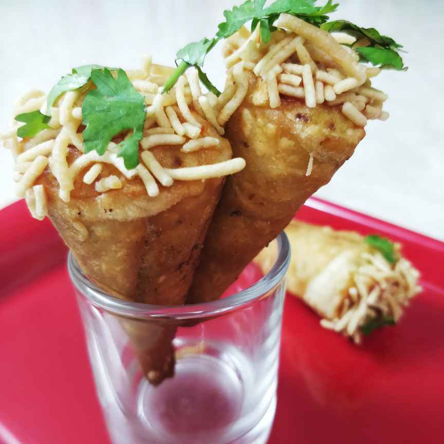 Photo of Veggie Cones by Sudha Badam at BetterButter
