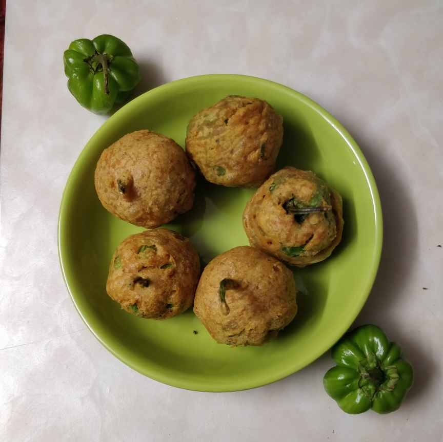 Photo of Baby Capsicum Bajji by Sudha Badam at BetterButter