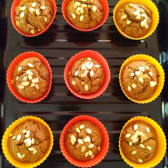 Photo of Eggless banana muffins by Sudha Kunkalienkar at BetterButter