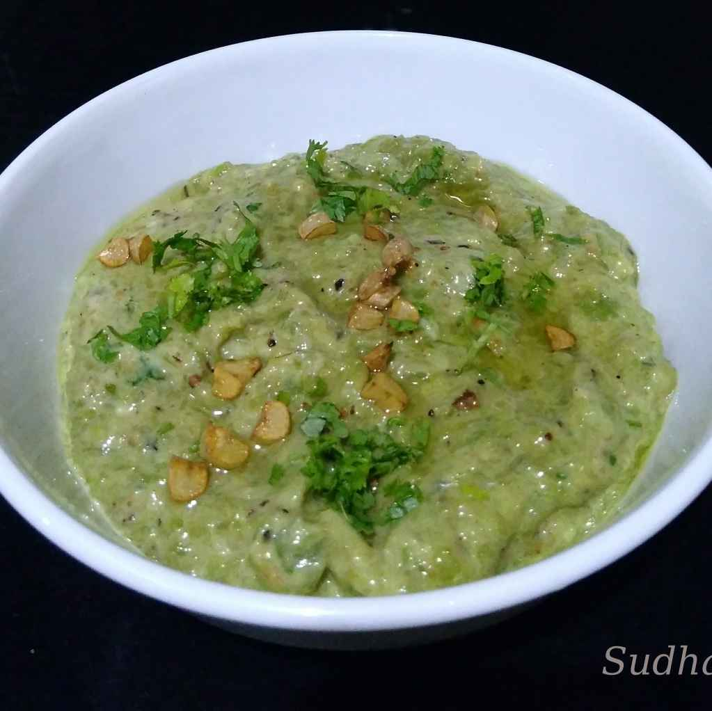 Photo of Ghosalyache Bharit - Gilki Raita by Sudha Kunkalienkar at BetterButter
