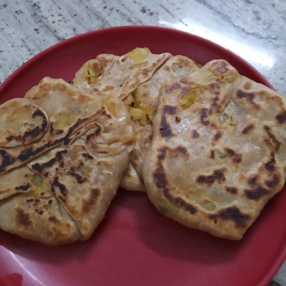 Photo of Aalu parotta by sudha rani at BetterButter