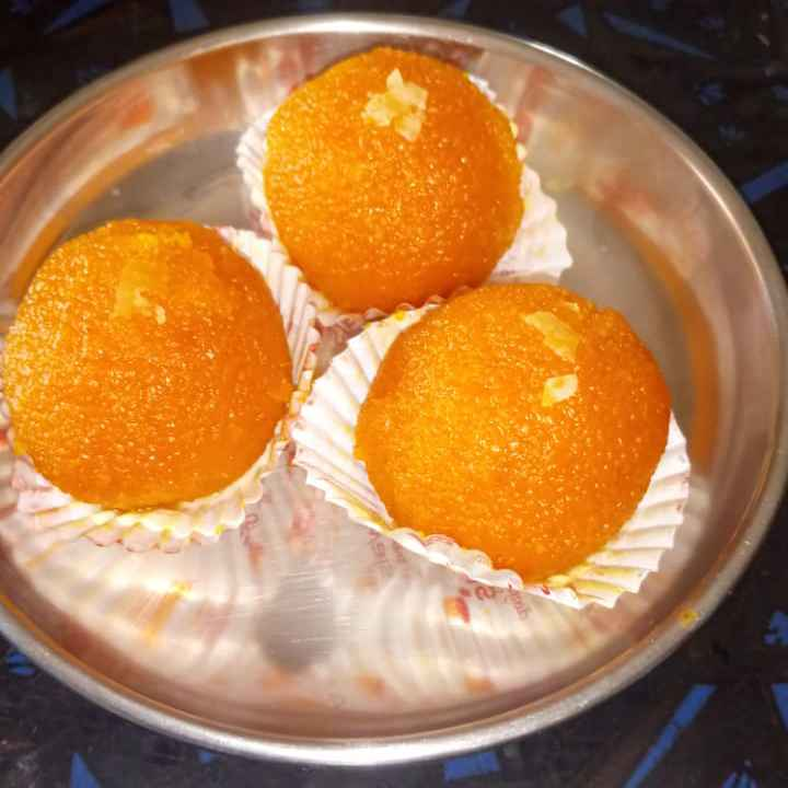 Photo of Mothi laddu by sudha rani at BetterButter