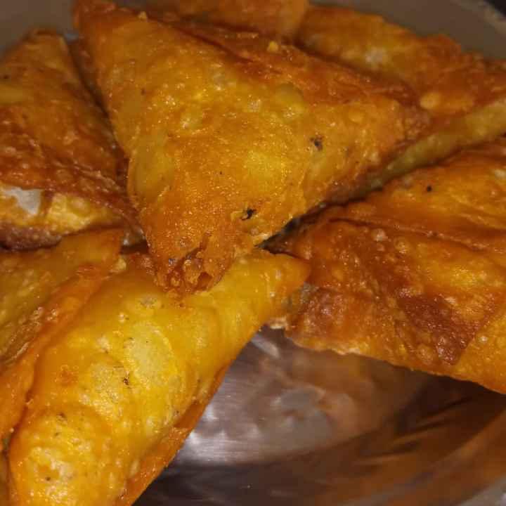 Photo of Onion samosa by sudha rani at BetterButter