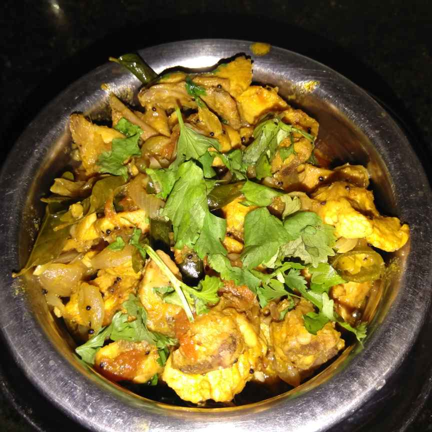 Photo of Chicken varuval by sudha rani at BetterButter