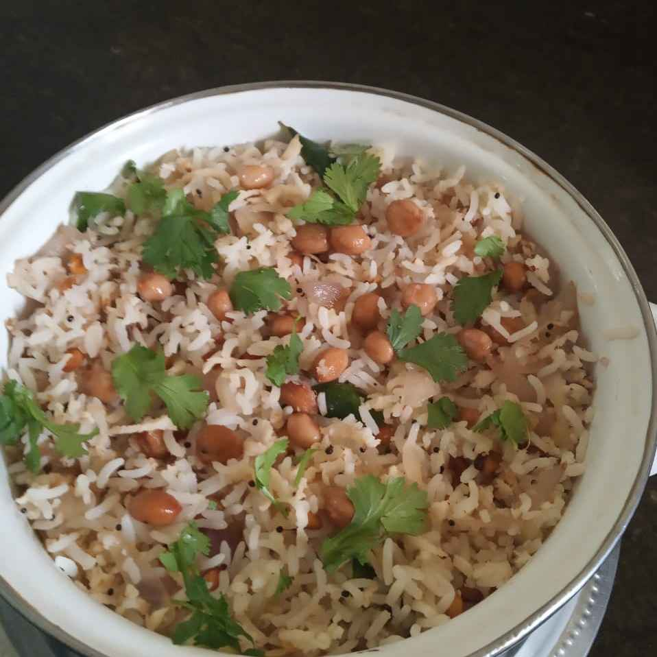 Photo of Peanut rice by sudha rani at BetterButter