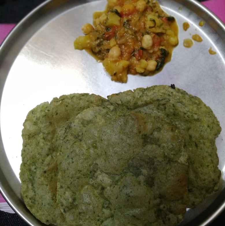 Photo of Palak puri by Sudha Sai at BetterButter