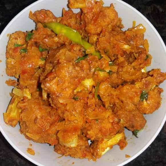 Photo of Gobi pakoda curry by Sudha Sai at BetterButter