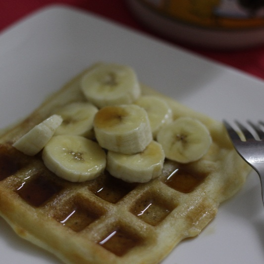 How to make Golden Waffles
