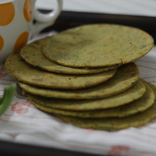 How to make Methi Khakra