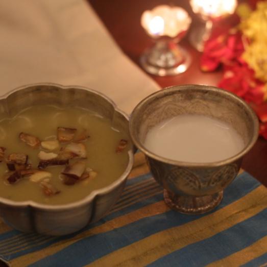 How to make Pazhappradaman - Banana in coconut milk