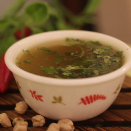 How to make Choley Rasam