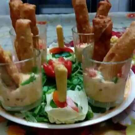 Photo of Baby Corn Cigars With Garlic Mayonnaise Dip by Jalpa Ambani at BetterButter