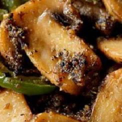 How to make Mushroom Pepper Fry