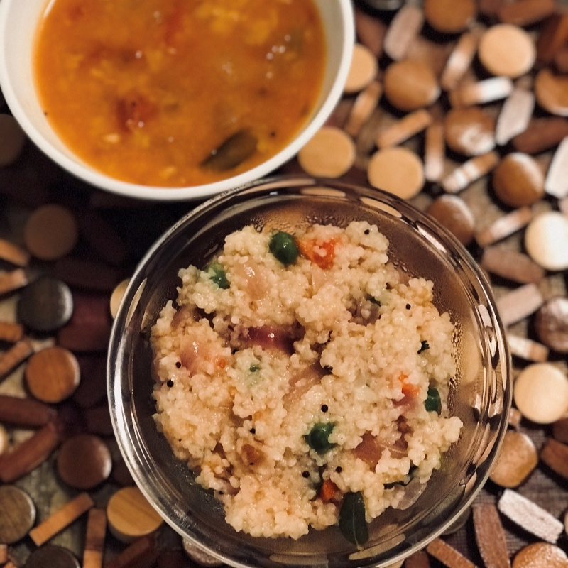 Photo of Little Millet Vegetable Upma by suganya balusamy at BetterButter