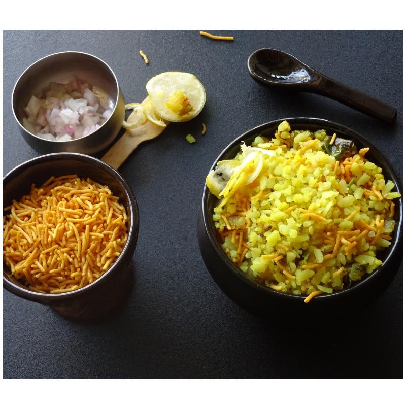 How to make Batata/Potato Pohe