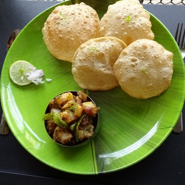 How to make Puri Bhaji
