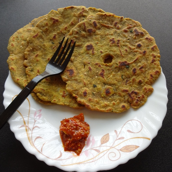 Photo of Eggplant Thalipeeth by Sujata Hande-Parab at BetterButter