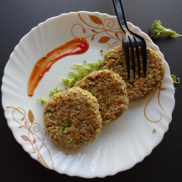 How to make Broccoli Oats Cutlets
