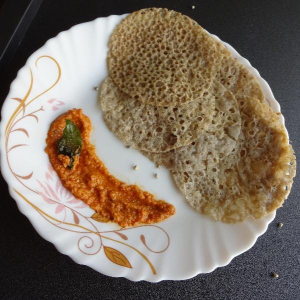 Photo of Quick Bajra (Pearl Millet) Crepe or Ghavan by Sujata Hande-Parab at BetterButter