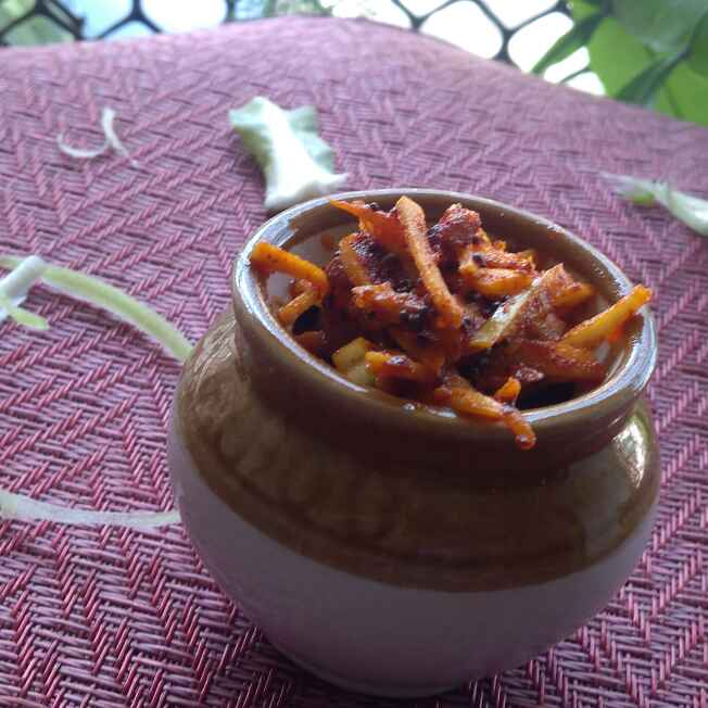 Photo of Cauliflower Stem Pickle by Sujata Hande-Parab at BetterButter