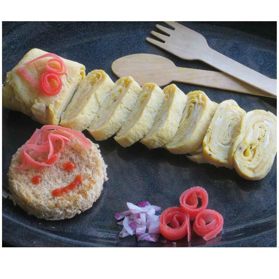Photo of Tamagoyaki ( Japanese Omelette) by Sujata Hande-Parab at BetterButter