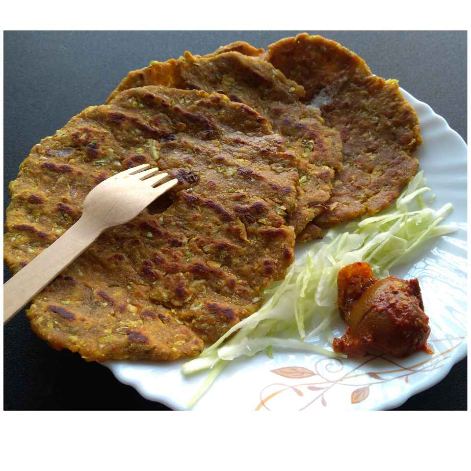 Photo of Cabbage Thalipeeth by Sujata Hande-Parab at BetterButter