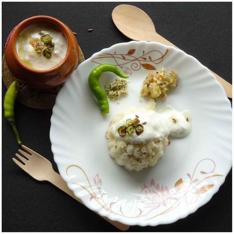 Photo of Curd -Barnyard Millet (Bhagar) Jira Rice by Sujata Hande-Parab at BetterButter