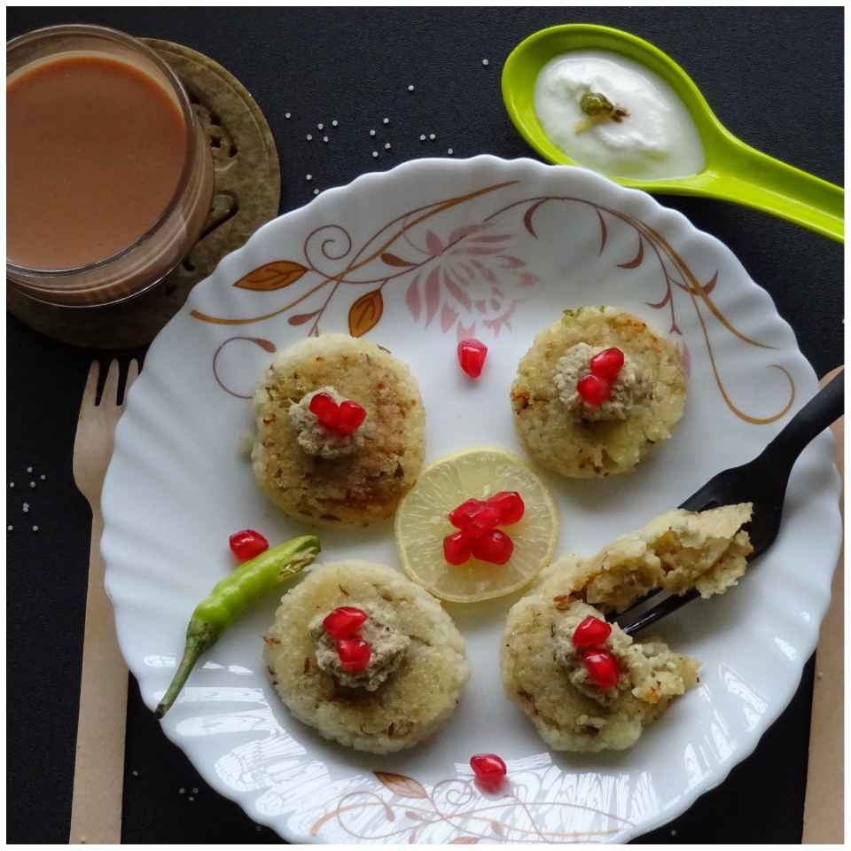 Photo of Stuffed Barnyard Millet Cutlets by Sujata Hande-Parab at BetterButter