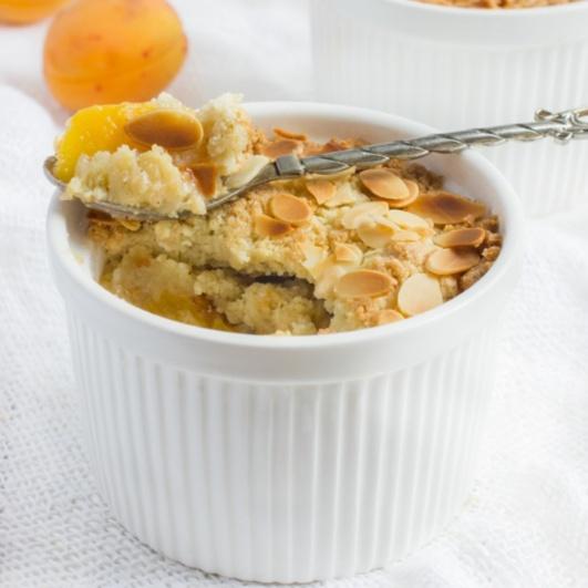 Photo of Apricot Crumble by Sujata Limbu at BetterButter