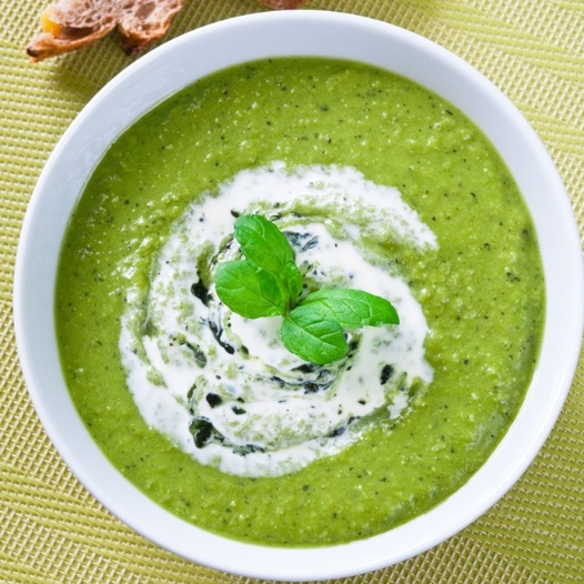 Photo of Pea soup with basil by Sujata Limbu at BetterButter