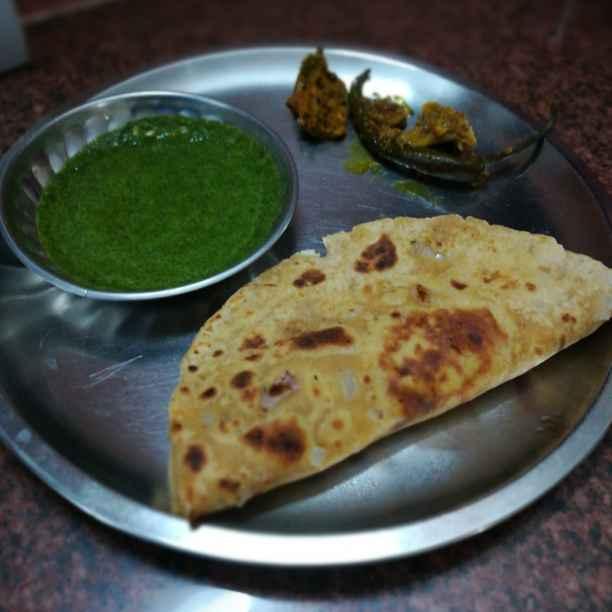 Photo of Kadhi paratha by Sujata Mishra at BetterButter