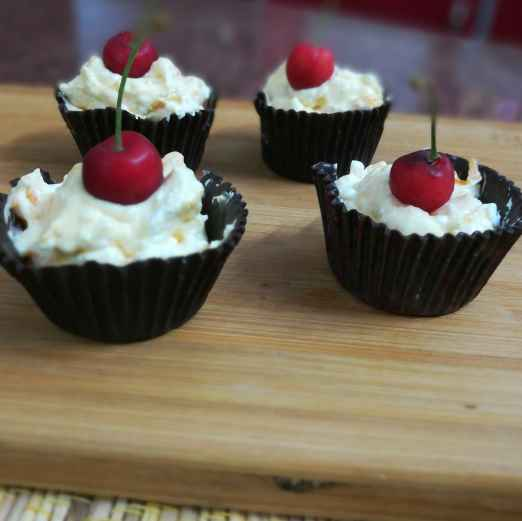 How to make Fruit cream cup