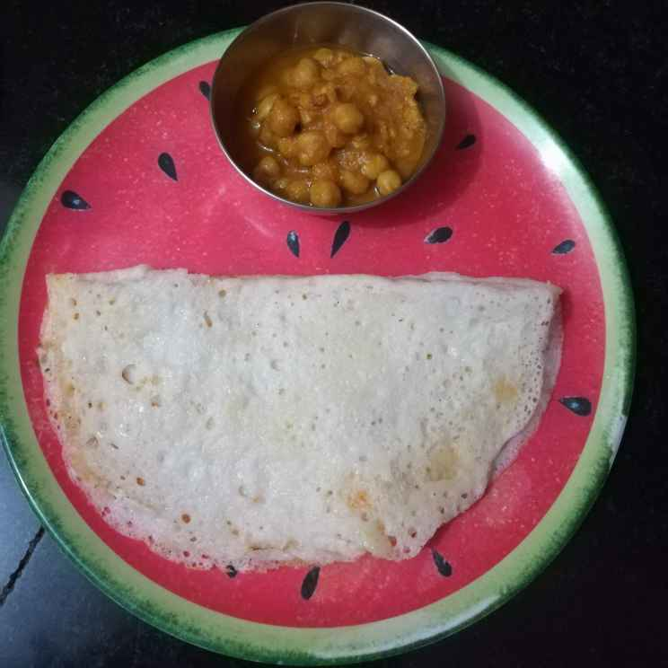 How to make Boiled Rice Dosa