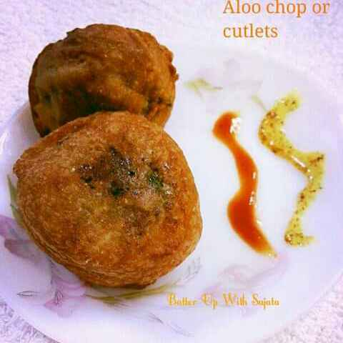 How to make Aloo Chop or Potato Fritters/Cutlets