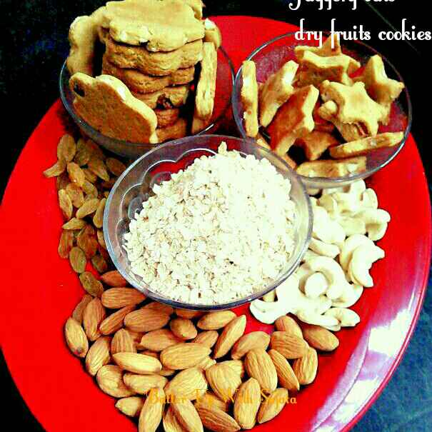 How to make Date Palm Jaggery Oats Dry Fruits Cookies