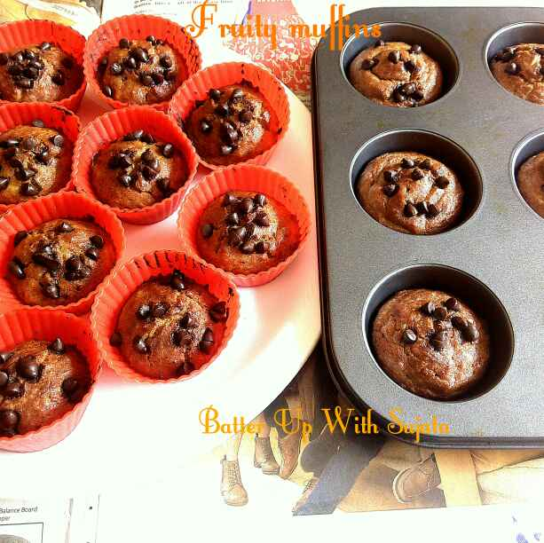 How to make Fruity Muffins