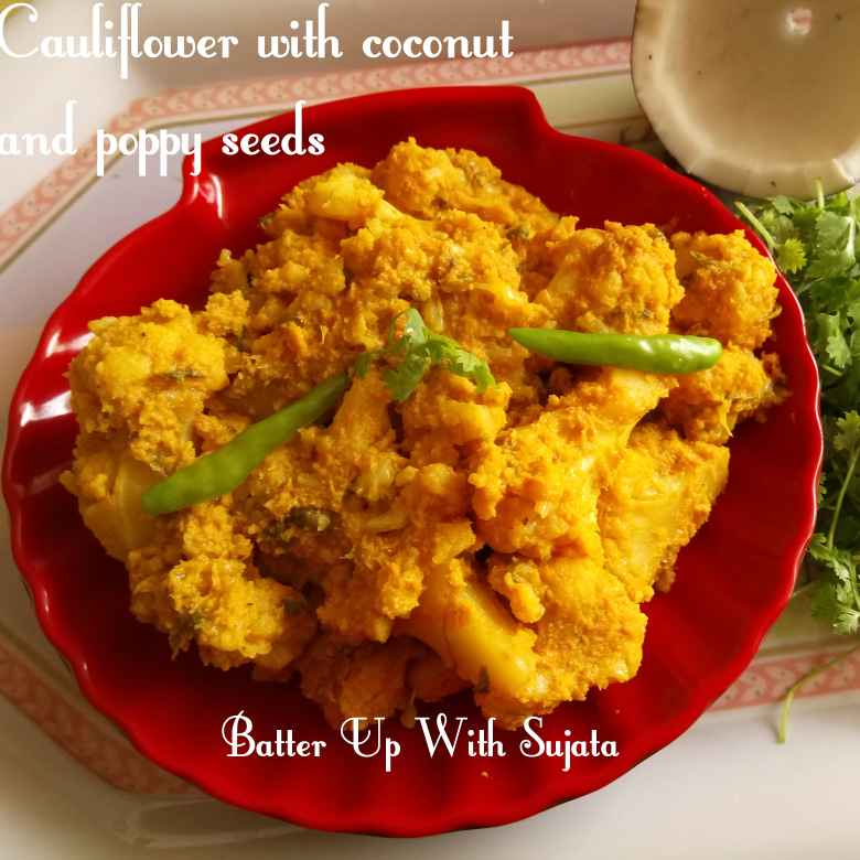 How to make Cauliflower with coconut and poppy seeds