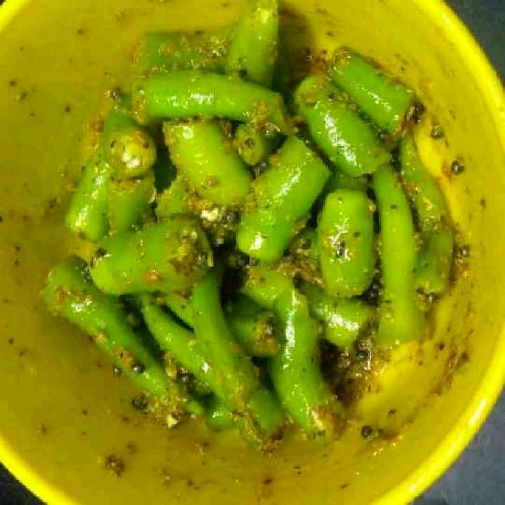 How to make Chilli pickle