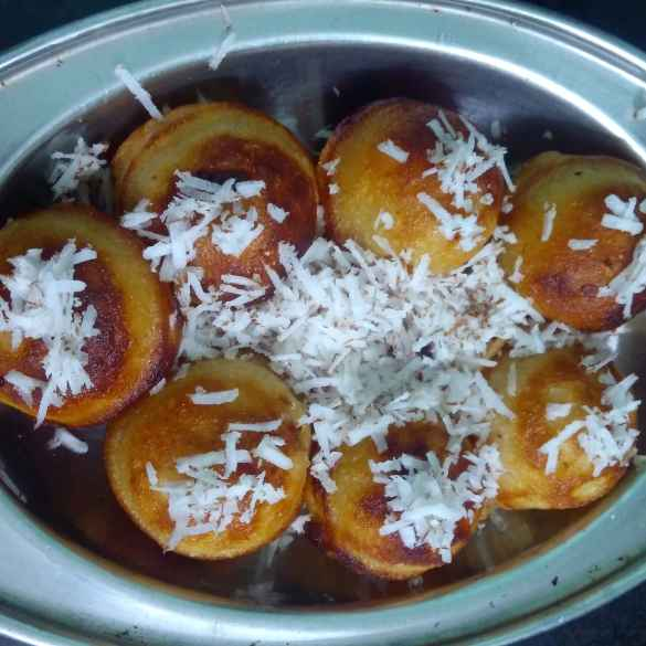 How to make Coconut milk sweet appam