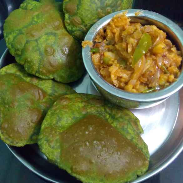 Photo of Palak poori by Suji RK at BetterButter