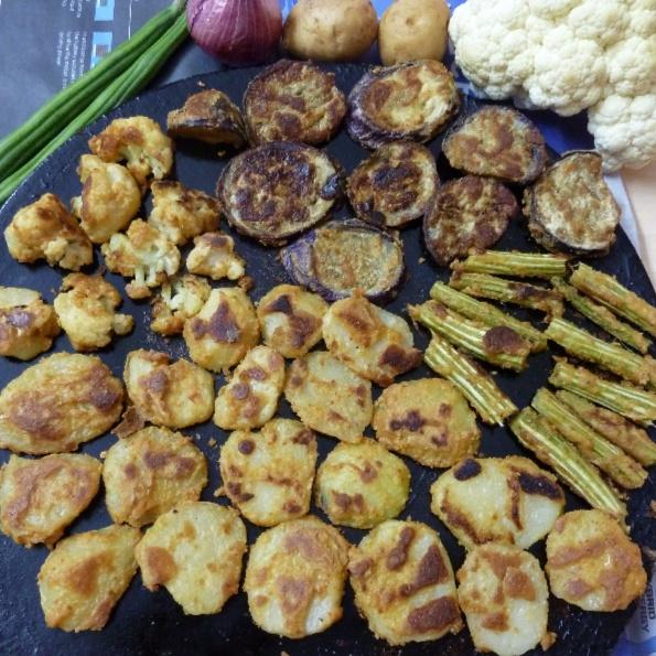 How to make NUVVULU VEPUDU - A sesame veggie roast delight