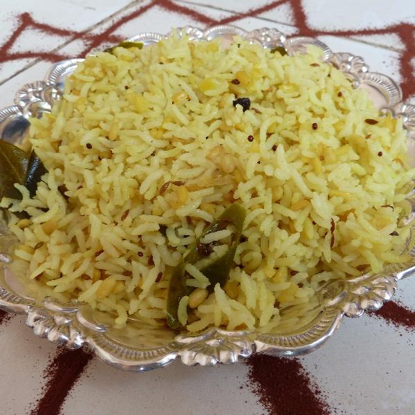 How to make PULAGAM - lentil rice