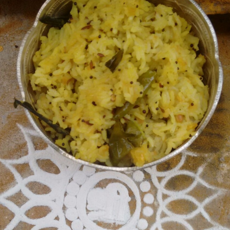 How to make PULAGAM - lentil rice