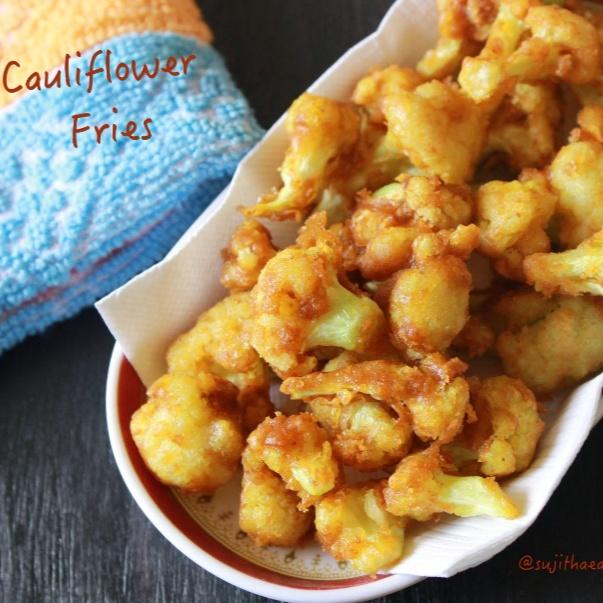 How to make Cauliflower Fries